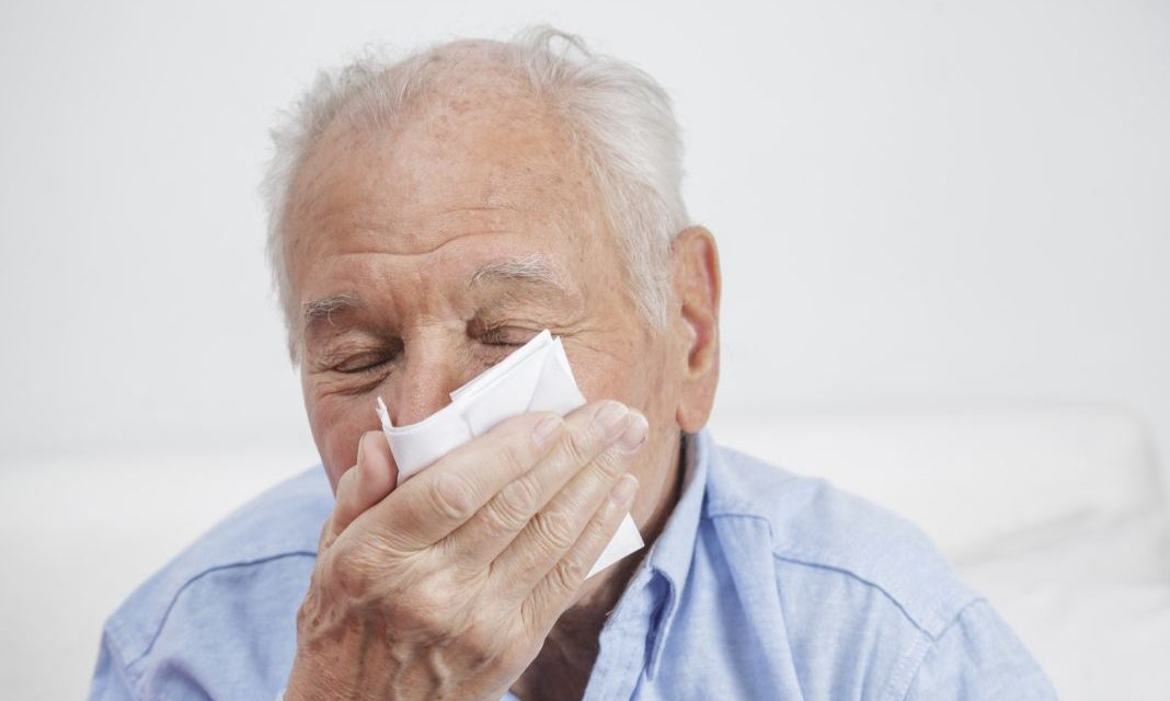 Vitamin E Helps Senior Citizens Fight Colds